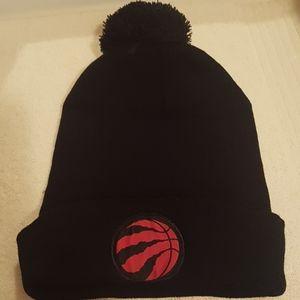 2/$20 NWOT Raptors NBA black knit hat